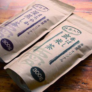 お茶「パッケージ」デザイン