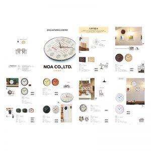 時計メーカー「カタログ」デザイン
