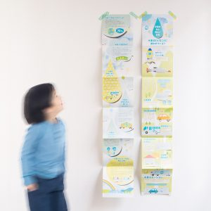 水素ステーション「パンフレット」デザイン